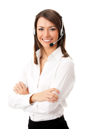 Call-centre-woman